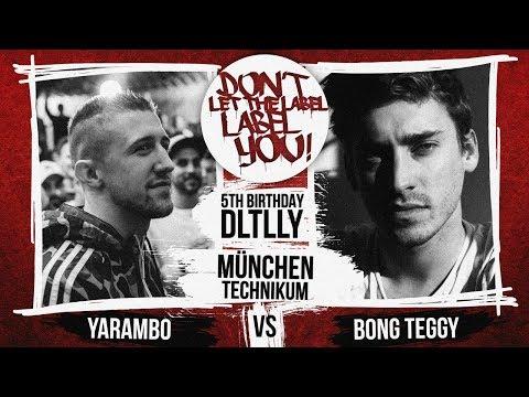 Yarambo vs Bong Teggy // DLTLLY RapBattle (B.Day#5 // München) // 2018 on YouTube