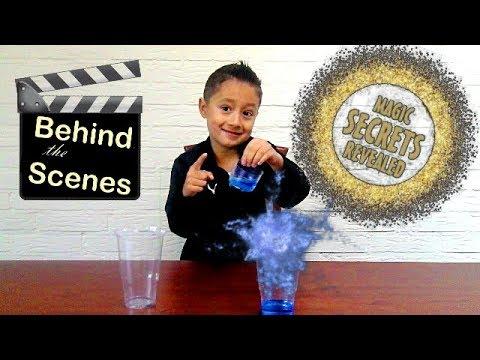 Magic Tricks revealed | Behind the scenes of magic tricks