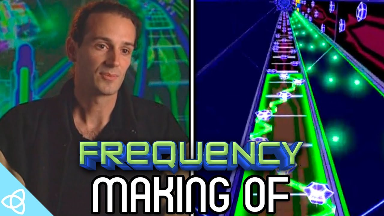 Making of - Frequency (PS2 Game) [Behind the Scenes]