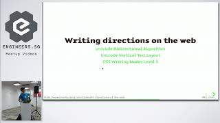 Directions of the Web - Talk.CSS #34