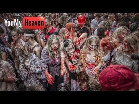 Видео, Zombie Walk 2013 Зомби флешмоб