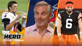 Bucs could face blow out VS. Packers, Steelers will end Browns' win streak - Colin | NFL | THE HERD