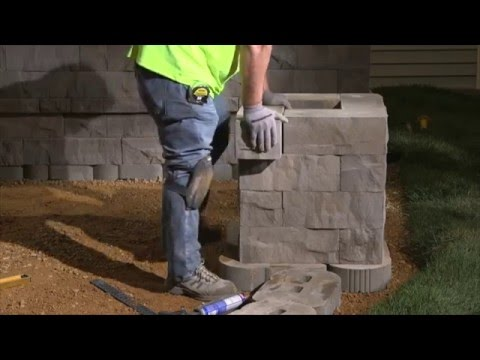 How To Build A Concrete Block Column Step By Step Guide