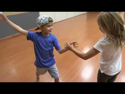 Cicily & Cohen - Kids Ballroom Dancing Cha Cha At DF Dance Studio