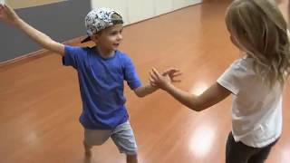 Cicily & Cohen - Kids Ballroom Dancing Cha Cha at DF Dance Studio
