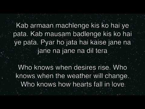 Nazar se Nazar mile   Rahat Fateh Ali Khan   Lyrics and Translation
