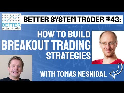 043: Tomas Nesnidal discusses how to create profitable breakout strategies, how to add new life into