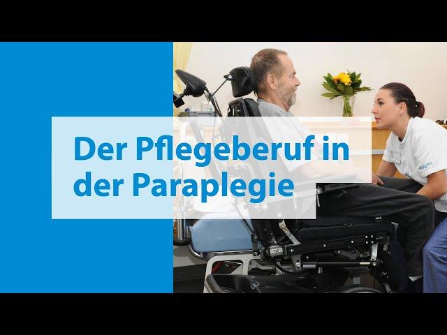 Pflegeberuf Paraplegie