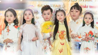 Trình diễn thời trang áo dài trẻ em - Fashion Shows Model Kids