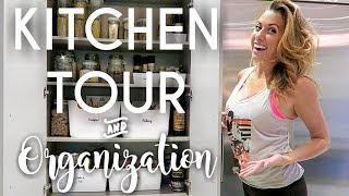 Kitchen Tour and Organization Tips