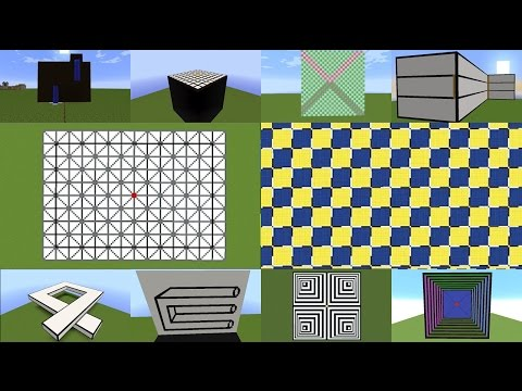 Minecraft Optical Illusions Marathon