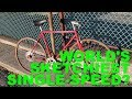 How to BUILD a SINGLE-SPEED BIKE in ABOUT AN HOUR!