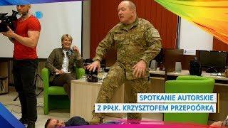 Spotkanie autorski z ppłk. Krzysztofem Przepiórką