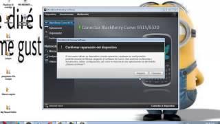 instalar sofware para blackberry y reparar error 512