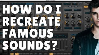 How Do I Recreate Famous Sounds? Feat WIEE