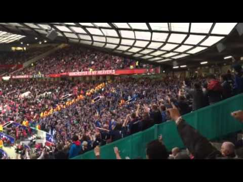 Manchester United vs Club Brugge - FCB loud and proud