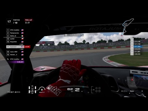 GT Sport FIA Championship Races final for week 1