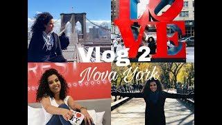 Vlog 2 NYC - Times Square, Estatua da Liberdade, Walmart, Sephora e Kiko Milano
