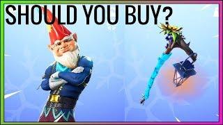 Should you buy the NEW GNOME skin in Fortnite? (New Season 7 Skin)