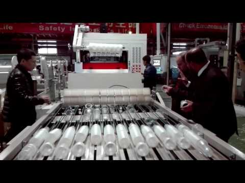 litai thermoforming machine with stacker