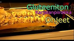 Gluteeniton  karjalanpiirakka teko-ohje gluteiiniton ja Leivontaohje