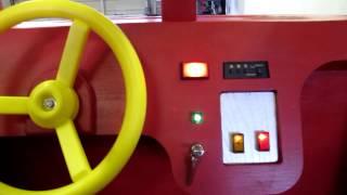 Firetruck Loft Bed-birthday Present
