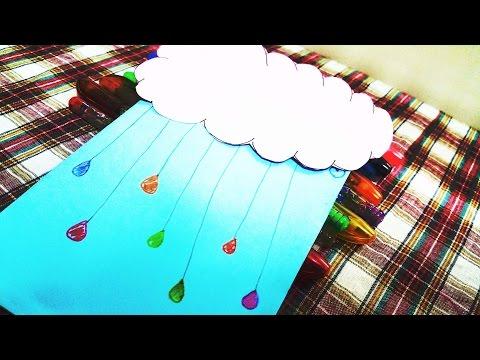 Cách làm thiệp mưa rơi để nói lời yêu thương - Mưa Thùy Chi M4U