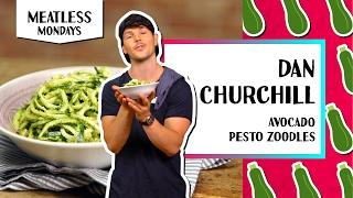 Guiltless Avocado Pesto Zoodles l Meatless Monday-Dan Churchill