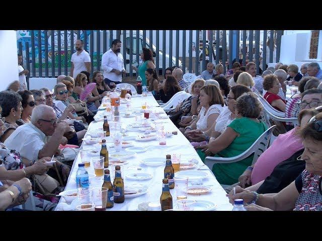 Merienda de la 3ª Edad en la Fiestas del Carmen de El Rompido 2019