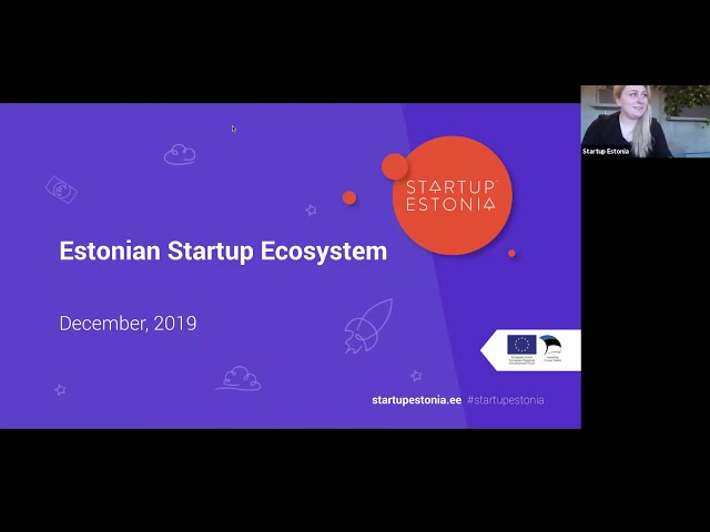 E-Residency webinar: Everything about Startup Visa and Startup Estonia