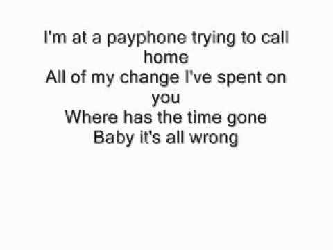MattyBraps - Payphone Lyrics - Maroon 5 (MattyBRaps Cover)
