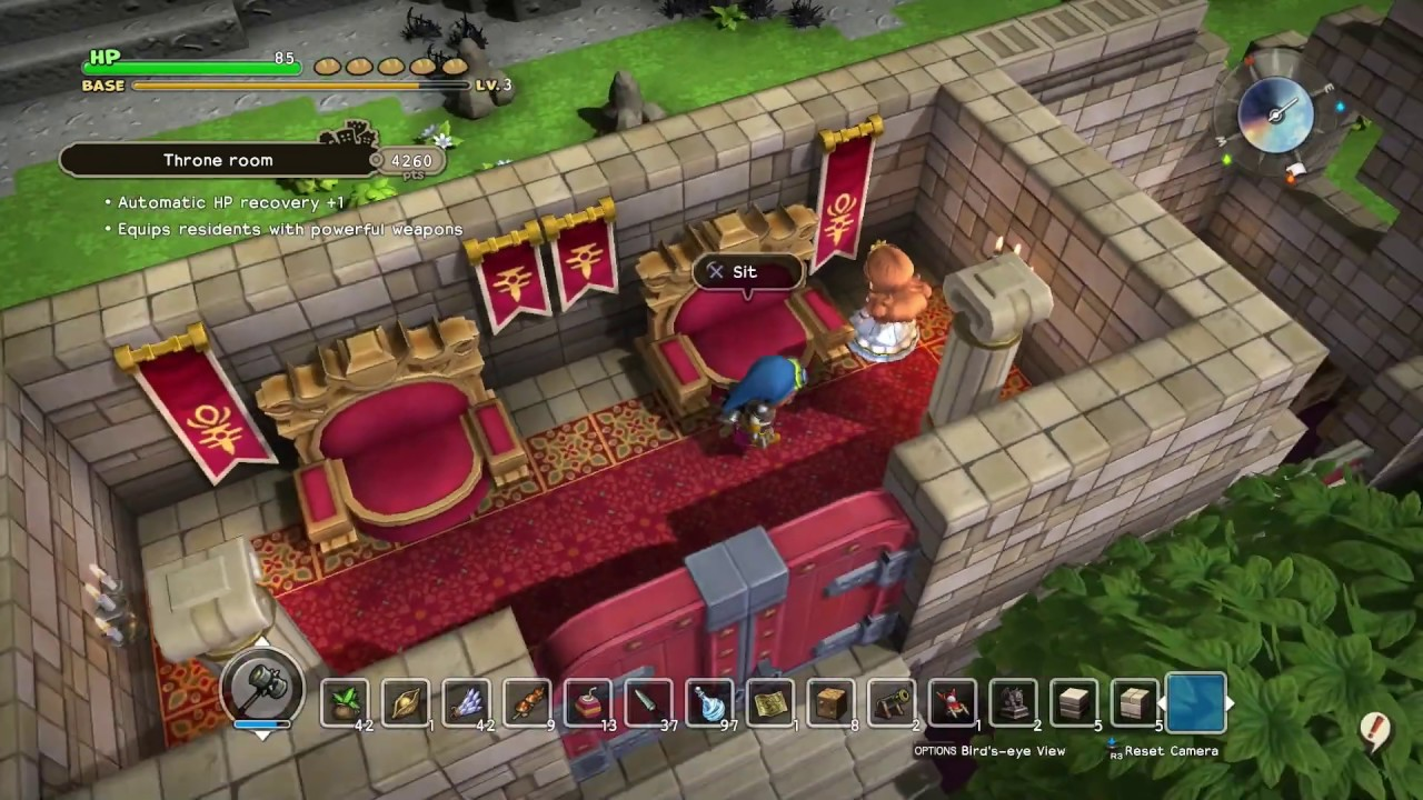 Dragon Quest Builders Ps4 Commentary 078 Ch 4 Holy Hostel Princess S Bedroom Youtube