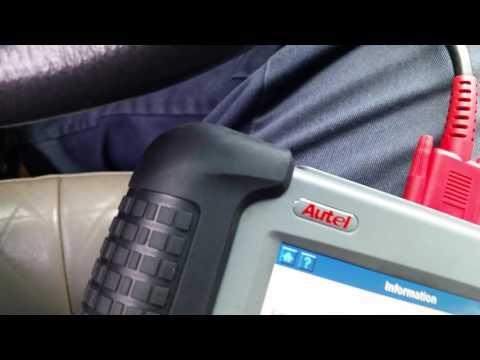 Wj jeep transponder key programming Maxidas ds708