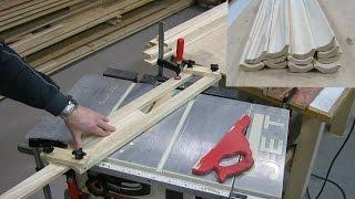 как сделать деревянный плинтус своими руками
