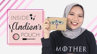 Inside Her Makeup Pouch | Andien