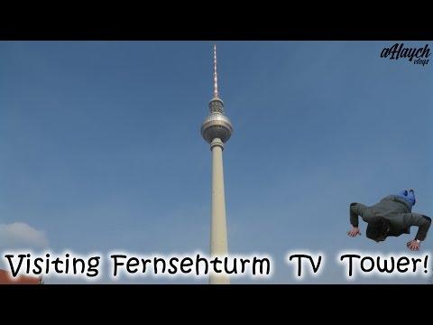 Visiting Fernsehturm Television Tower