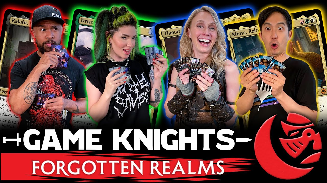 Adventures in the Forgotten Realms l Game Knights #46 l Magic: The Gathering Commander Gameplay EDH