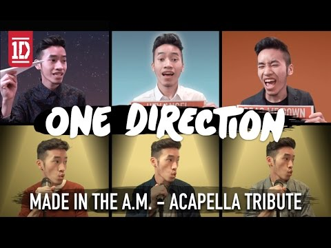 ONE DIRECTION - MADE IN THE A.M. ACAPELLA MEDLEY | INDY DANG