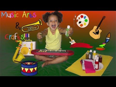 Music Arts & Crafts!! (Indoor Activities)