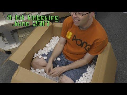 8-Bit Donation Unboxing - June 2017