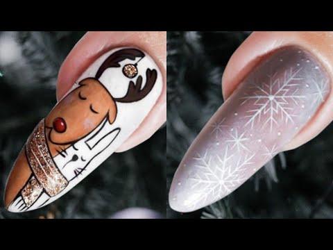 The Best Christmas Nail Art Designs Compilation - Nail Art Design Tutorial thumbnail