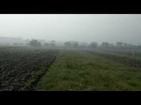 Granizo y lluvias en la provincia de Córdoba