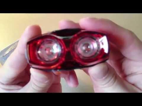 RPL-2230 1W tail light, Cree XM-L T6 UltraFire flashlight review part 3 HD
