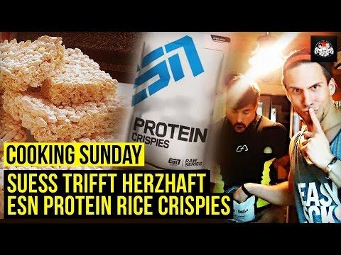 Cooking Sunday - Süß trifft Herzhaft, ESN Protein Rice Crispies Geschmacksorgasmen
