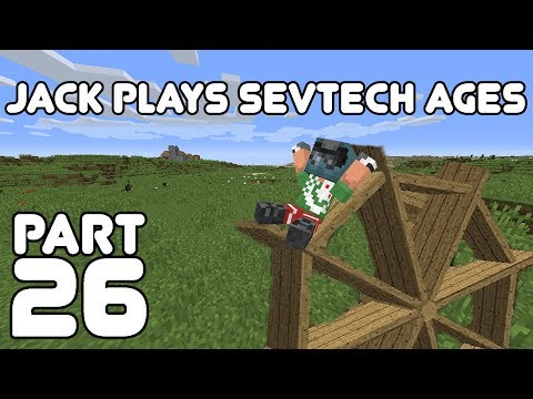 Fully Powered Jack! Jack Plays Minecraft: SevTech Ages Part 26