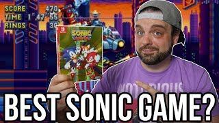 Sonic Mania Plus Review for Switch - BEST Sonic Game EVER? | RGT 85