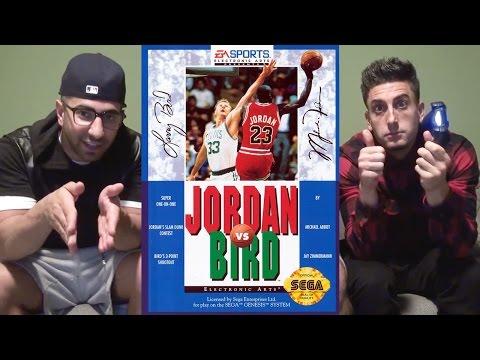 JORDAN VS BIRD w/ FouseyTube
