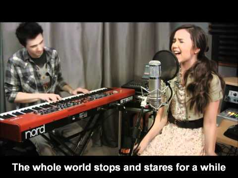 Maddi Jane - Just the way you are (Lyrics On Screen)