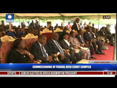 Commissioning Of Federal High Court Complex Pt. 4 -- Onueze Okocha (SAN)