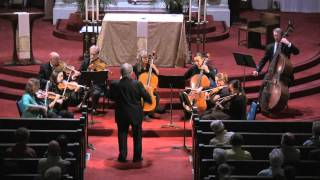 Midsummer Mozart Festival Orchestra performs Mozart Serenade No.13 for strings in G Major, K. 525